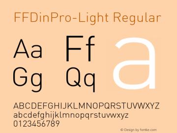FFDinPro-Light