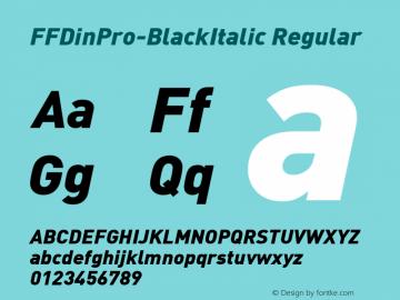 FFDinPro-BlackItalic