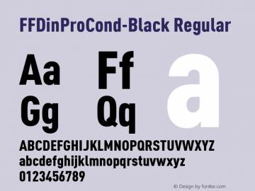 FFDinProCond-Black