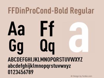 FFDinProCond-Bold