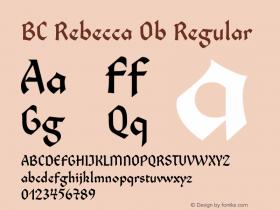 BC Rebecca Ob