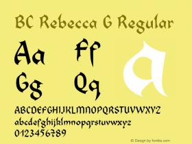 BC Rebecca G