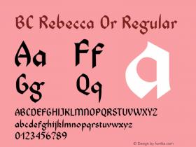 BC Rebecca Or