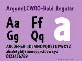ArgoneLC-Bold