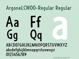 ArgoneLC-Regular