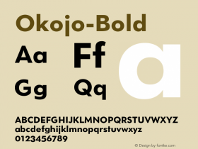 Okojo-Bold