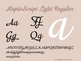 HapticScript Light