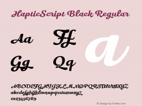 HapticScript Black