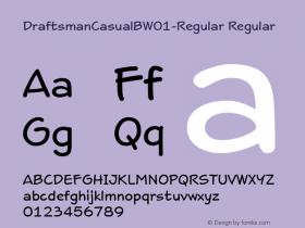 DraftsmanCasualB-Regular