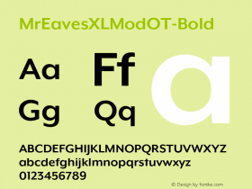 MrEavesXLModOT-Bold