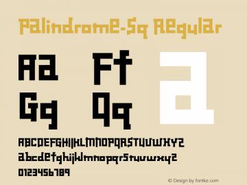 Palindrome-Sq