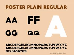 Poster Plain