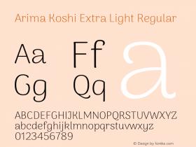 Arima Koshi Extra Light