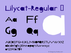 Lilycat-Regular