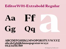 Editor-Extrabold