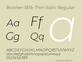 Brother-1816-Thin-Italic