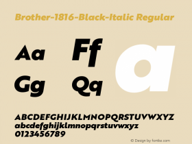 Brother-1816-Black-Italic