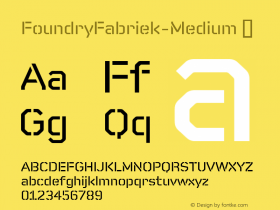 FoundryFabriek-Medium