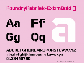 FoundryFabriek-ExtraBold