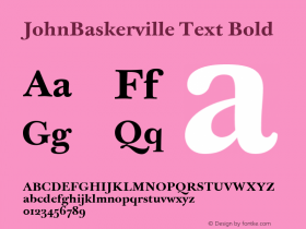 JohnBaskerville Text