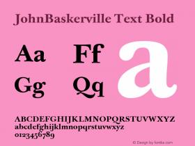 JohnBaskerville Text