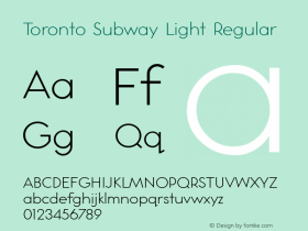 Toronto Subway Light