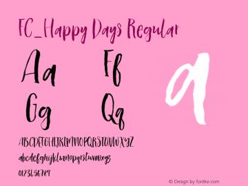 FC_Happy Days