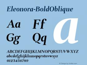 Eleonora-BoldOblique