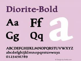 Diorite-Bold