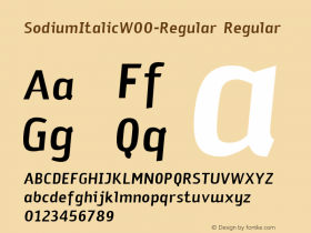 SodiumItalic-Regular