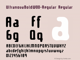 UltranovaBold-Regular