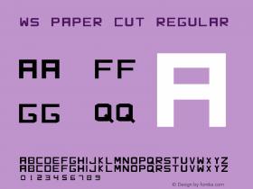 WS Paper Cut