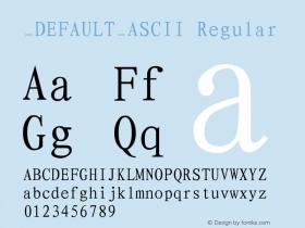 DEFAULT_ASCII