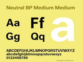 Neutral BP Medium