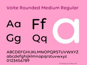 Volte Rounded Medium