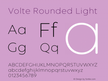 Volte Rounded