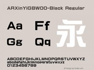 ARXinYiGB-Black