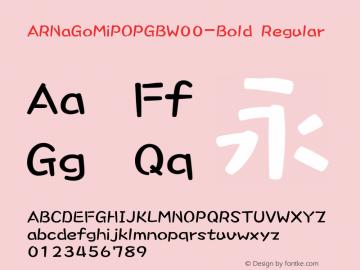 ARNaGoMiPOPGB-Bold