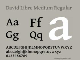 David Libre Medium
