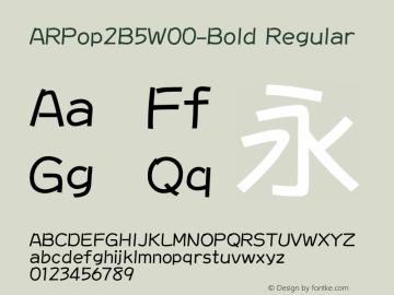 ARPop2B5-Bold
