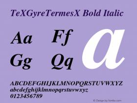 TeXGyreTermesX