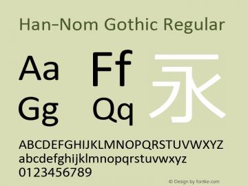 Han-Nom Gothic