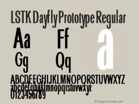 LSTK Dayfly Prototype