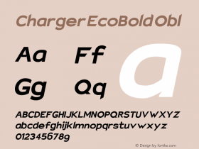 Charger EcoBold