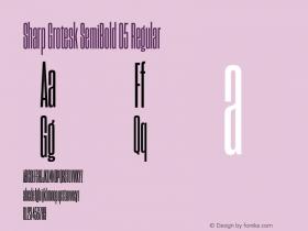 Sharp Grotesk SemiBold 05