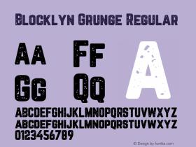 Blocklyn Grunge