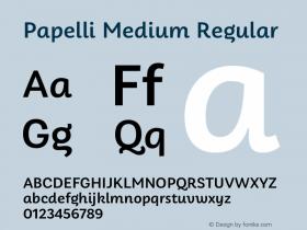 Papelli Medium