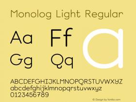 Monolog Light