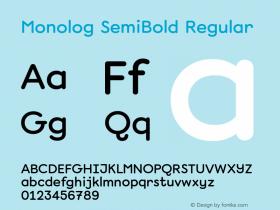 Monolog SemiBold