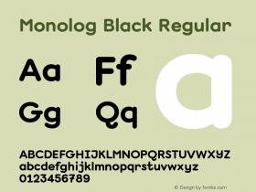 Monolog Black
